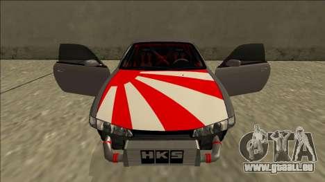 Nissan Silvia S14 Drift JDM für GTA San Andreas Innen