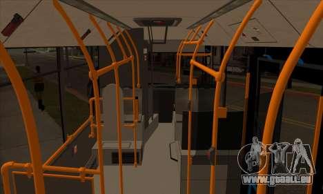 MAZ 206.000 pour GTA San Andreas vue arrière