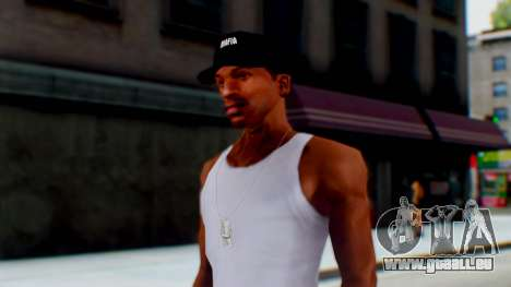 Mafia Cap Black White pour GTA San Andreas