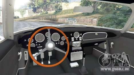 GTA 5 Aston Martin DB5 Vantage 1965 hinten rechts