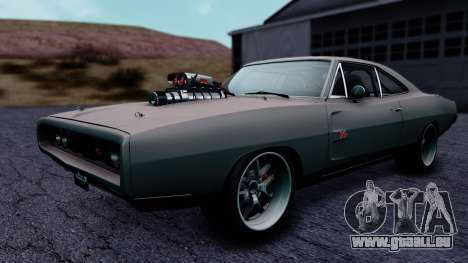 Dodge Charger RT 1970 FnF7 für GTA San Andreas