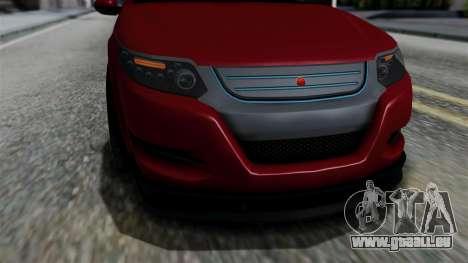 GTA 5 Cheval Surge IVF für GTA San Andreas rechten Ansicht