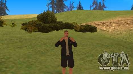 Parler comme un gangster pour GTA San Andreas deuxième écran