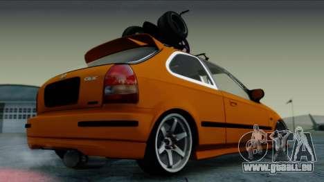 Honda Civic BC YAPIM pour GTA San Andreas laissé vue