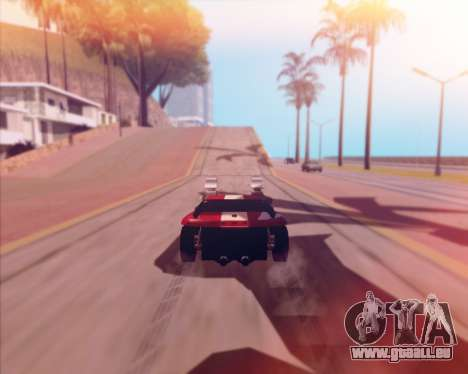 Banshee Twin Mill III Hot Wheels v1.0 pour GTA San Andreas vue arrière