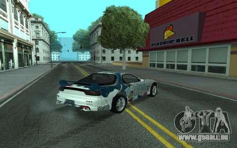 Mazda RX-7 Tunable für GTA San Andreas rechten Ansicht