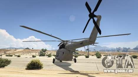 GTA 5 Mi-8 troisième capture d'écran