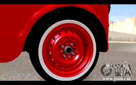 Zastava 750 - The Cars Movie für GTA San Andreas rechten Ansicht
