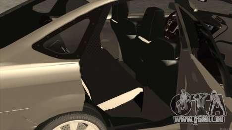 Ford Focus Sedan 2009 pour GTA San Andreas vue de droite