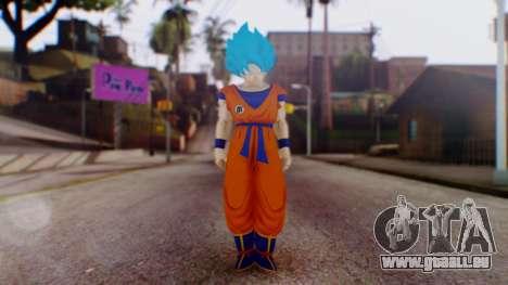 Goku SSJ God Blue (SSGSS) pour GTA San Andreas deuxième écran