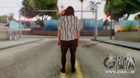 WWE Mankind pour GTA San Andreas troisième écran