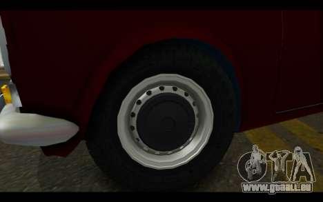 Fiat 124 für GTA San Andreas rechten Ansicht