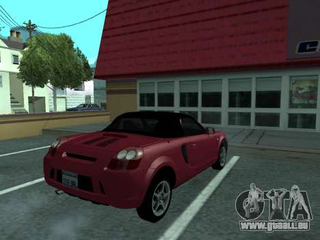 Toyota MR-S Tunable für GTA San Andreas linke Ansicht