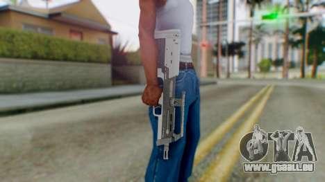 GTA 5 Assault SMG - Misterix 4 Weapons pour GTA San Andreas troisième écran