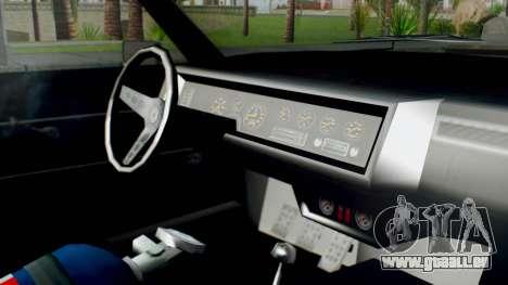GTA 5 Imponte Nightshade IVF pour GTA San Andreas vue de droite
