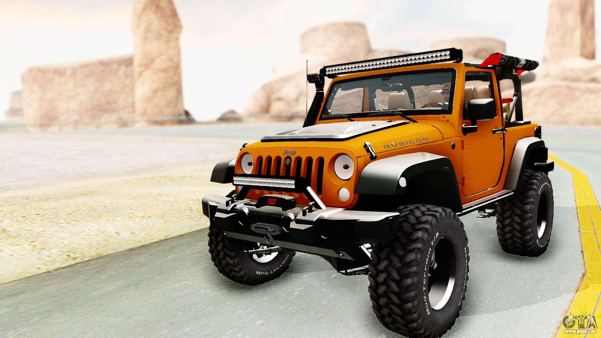 Jeep Wrangler Off Road pour GTA San Andreas