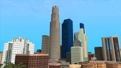 LSPD, All Saints Hospital & Skyscrapers 2016 pour GTA San Andreas