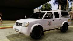 Nissan Frontier ABS CBN pour GTA San Andreas