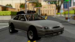 Nissan Silvia S14 Rusty Rebel