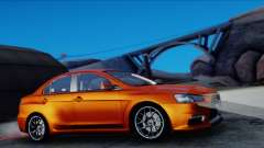 Mitsubishi Lancer Evolution X Tunable New PJ für GTA San Andreas