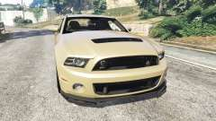 Ford Mustang Shelby GT500 2013 v2.0