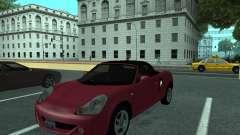 Toyota MR-S Tunable pour GTA San Andreas
