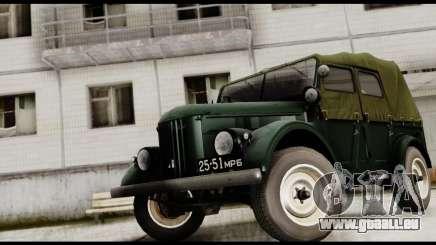 GAZ-69A pour GTA San Andreas