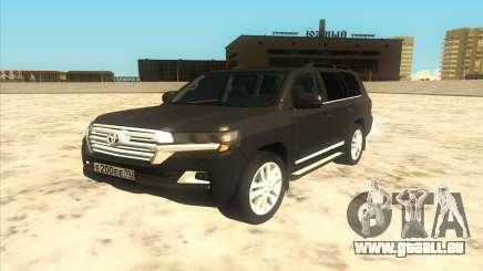Toyota Land Cruiser 200 2016 pour GTA San Andreas