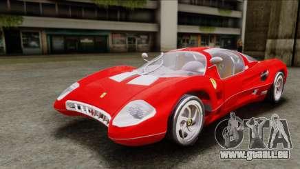 Ferrari P7 Chromo pour GTA San Andreas