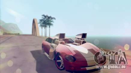 Banshee Twin Mill III Hot Wheels v1.0 pour GTA San Andreas