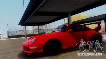 Porsche 993 GT2 RWB Rough Rhythm für GTA San Andreas