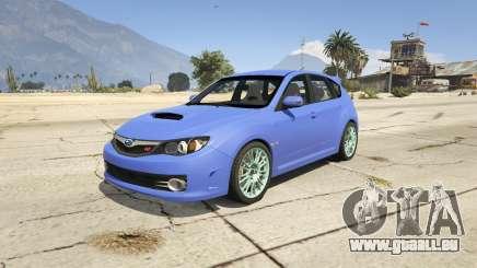 Subaru Impreza WRX STI 1.1 pour GTA 5
