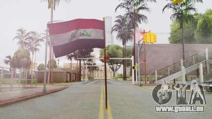 Iraq Flag HD pour GTA San Andreas