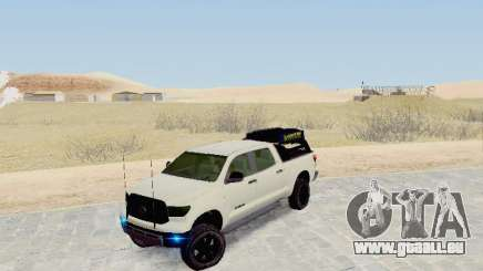 Toyota Tundra 2012 Semi-Off-road pour GTA San Andreas