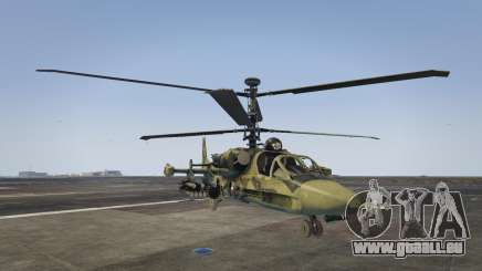 Ka-52 Alligator pour GTA 5