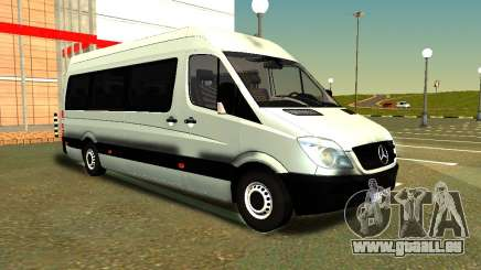 Mercedes-Benz Sprinter Long für GTA San Andreas