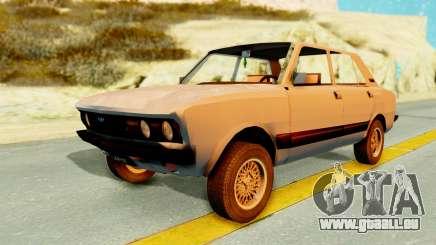 Fiat 132 pour GTA San Andreas