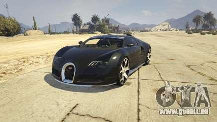 Bugatti Veyron v6.0 für GTA 5