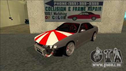 Nissan Silvia S14 Drift JDM pour GTA San Andreas