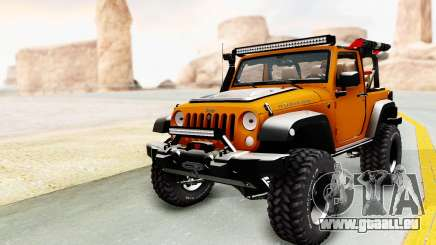 Jeep Wrangler Off Road für GTA San Andreas