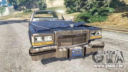 Cadillac Fleetwood Brougham 1985 [rusty] pour GTA 5
