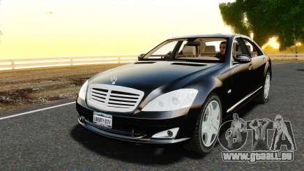 Mercedes-Benz S600L 2008 pour GTA 4