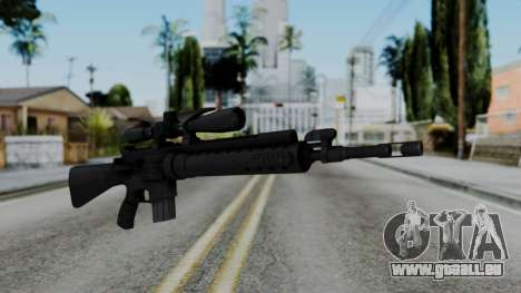 Arma AA MK12 SPR pour GTA San Andreas