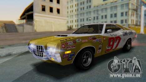 Ford Gran Torino Sport SportsRoof (63R) 1972 PJ2 für GTA San Andreas Seitenansicht