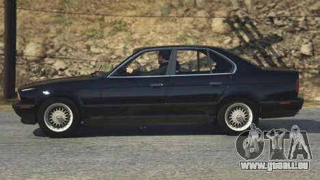 GTA 5 BMW 535i E34 Rückansicht