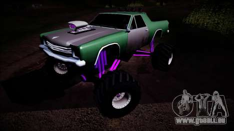 Picador Monster Truck für GTA San Andreas Seitenansicht