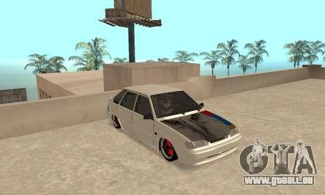 Vaz 2114 Armenian pour GTA San Andreas laissé vue