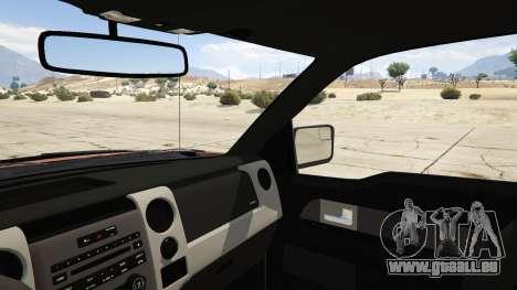 GTA 5 Ford Velociraptor 1500 hp arrière droit vue de côté