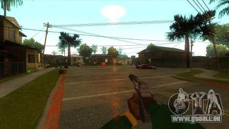 La première personne de la v3.0 pour GTA San Andreas