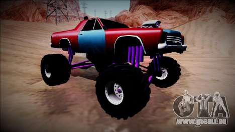 Picador Monster Truck pour GTA San Andreas